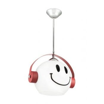 Special Production Red Smiling Children's Room Chandelier 0274