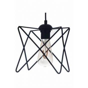 Star Rustic Black Single Modern Chandelier 10950