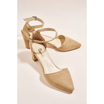 Dark Beige Women's Heels Shoes H0503720072
