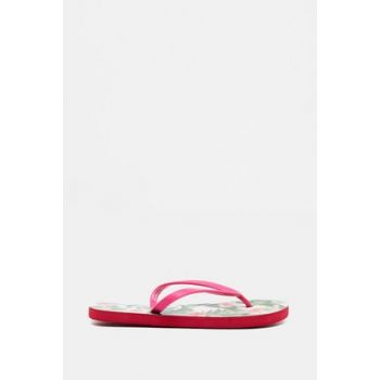 Women's Pink Toe Slipper 9YAK25091AA