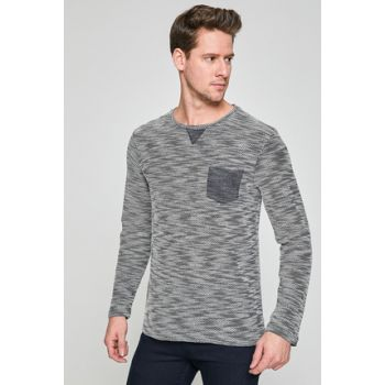 Men's Navy Blue Pullover 8YAM91000NK