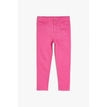 Pink Girls' Leggings 9KKG47442OD