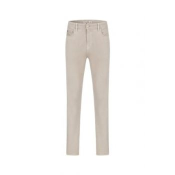 Men's Stone Non-Denim Slım Straıght Trousers 1203719 329723