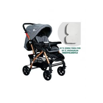 St-04 Active Gold Bidirectional Baby Stroller GRAY 000146.000001.000002