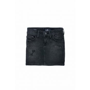Girls' Jean Skirts Adrea G Maıdu Wash 0300926034141635123702