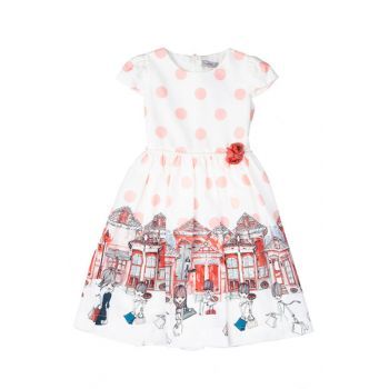 White Girls' Dress SBEKCELB1254_00-0001