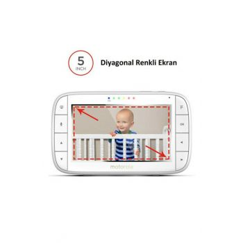 Mbp36Xl 5 Inch Lcd Display Digital Baby Webcam IB24735