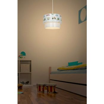 Deko Pendant Lamp - Car Patterned Child / Junior Room Lighting ASZ.0969