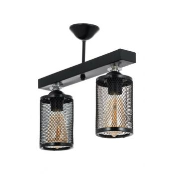 Honeycomb New Style Modern Sequential Black 2 '' Chandelier 0528