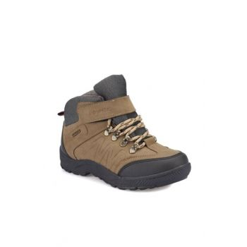 Sand Color Boy Child Worker Boots 000000000100276914