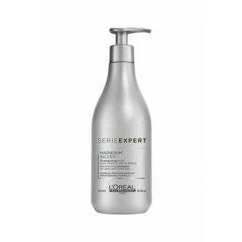 Shine Shampoo for Gray and White Hair 500 ml - Silver Gloss Protect System 3474636502868