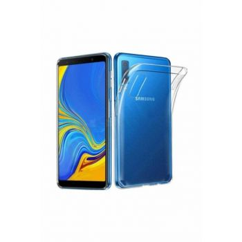 KNY For Samsung Galaxy A70 Case Ultra Thin Transparent Silicone + Glass Screen Protector 90982200176