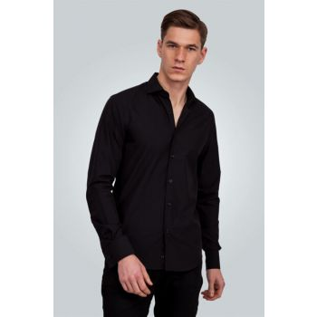 Men's Black Shirt - DR16055-02