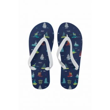 Men's Printed Toe Slippers G9352AZ.17SM.IN149