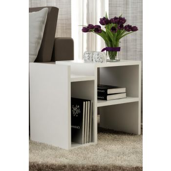 Pawn Side Table White 8681506222909