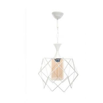Platinum White Honey Single Chandelier WHT1P 10729