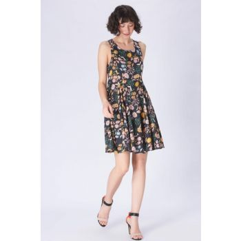 Women's Floral Printed Dress 130586-15903