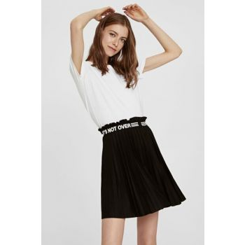 Women's New Black Skirt 9SO016Z8