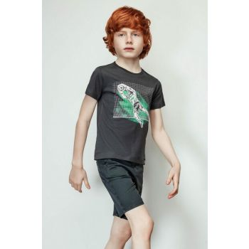 Boys' Anthracite T-Shirt 19SS2NB3567