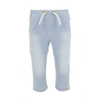Baby Girl Pants Light Blue Sbbknpan675_00-0005 SBB000000294