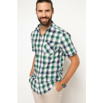 Men's Modern Fit Single Pocket Shirt G9252AZ.17HS.NM23