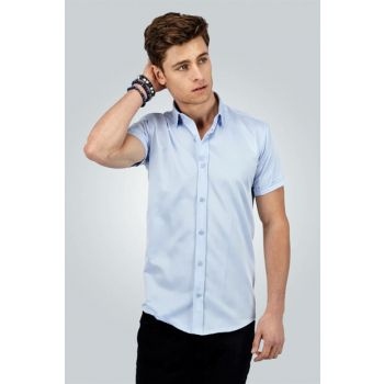 Men's Blue Shirt - Md180001-207 MD180001-207