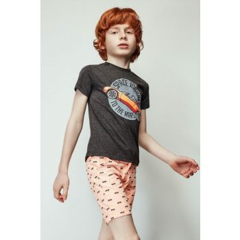 Boys' Anthracite T-Shirt 19SS1NB3550