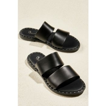 Black Women's Slippers H0647130009