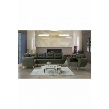 Berlin Corner Sofa Set BRLN30