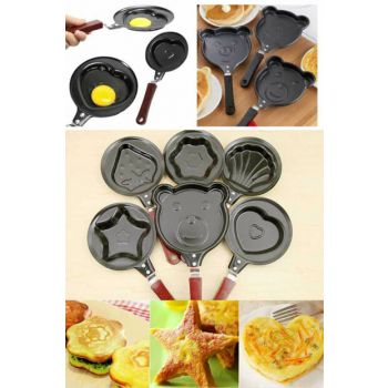 Variable Figured Teflon Omelette Pancake Pan T296