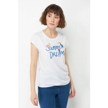 Women's Summer Dream Printed T-shirt 167886-620