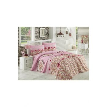 Double Bed Set - Lovely Pink 10969-1