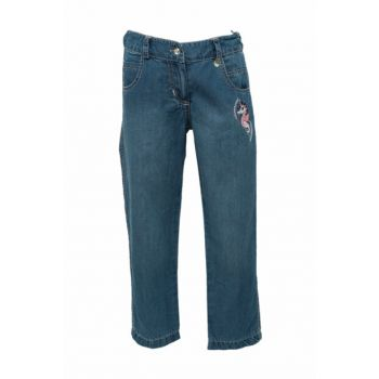 Blue Girls' Trousers 81M4ULR01