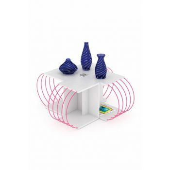 Case 4-Piece Table (White-Pink) RF170607