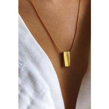 Rectangle Necklace T0146