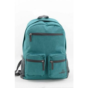 Blue Unisex Backpack 8593-Cloth 8593-BEZ