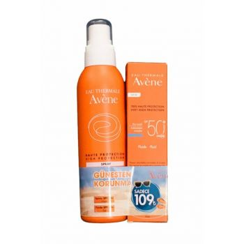 Sunscreen Set - Fluide SPF50 + 50 ml + Spray SPF30 + 200 ml 3282779100274