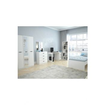 Texas Mirrored Teen Room (Bright White) 123TEKSAS002