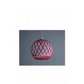 Balle Red-White Ball Pendant Chandelier MD334