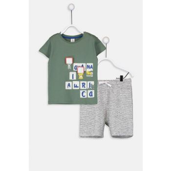 Baby Boy Shorts Suit 9S6885Z1