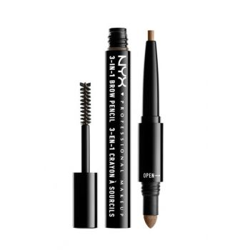 3 in 1 Eyebrow Pencil - 3 in 1 Brow Taupe 800897078850 NYXPMU31B