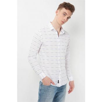 Men's Pocketless White Shirt 021239-620