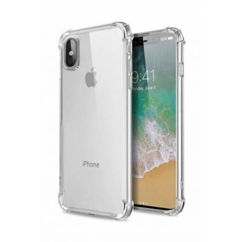 Apple iPhone X - XS Ultra Thin Transparent Airbag Anti Shock Silicone Case - Transparent X-XSSEFFAF