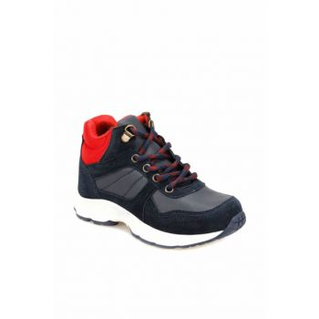 Navy Blue Red Children's Boots 000000000100339173 000000000100339173
