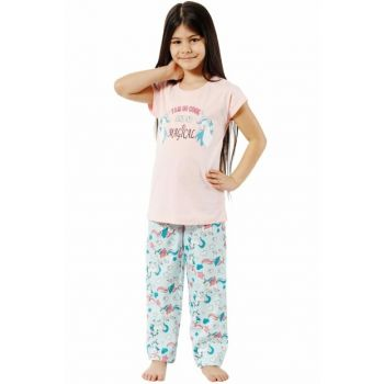 Girls Pink Pajamas Set 42515