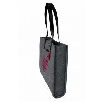 Solar Course Gray Felt Bag BGD03001020495