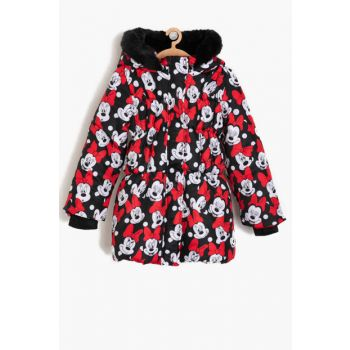 Minnie By Cotton Printed Coat 9KKG07429AW