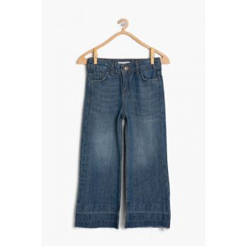 Blue Girls' Trousers 9KKG47849OD
