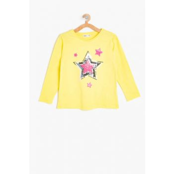 Yellow Girl's Child T-Shirt 9YKG17347AK