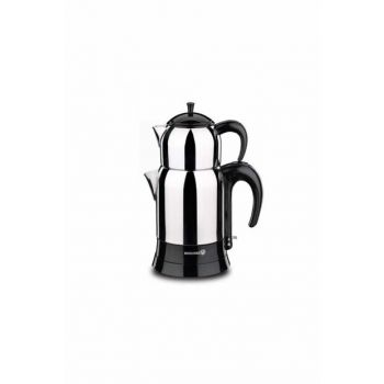 A356 Korkmaz Caytez Black Electric Teapot